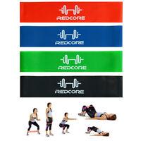 4Pcs Elastic Resistance Loop Bands Exercise Yoga Fitness Gym Training