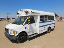 2002 GMC Savana 3500 Thomas Built 12-Passenger Bus Dually 6.5L V8 bidadoo