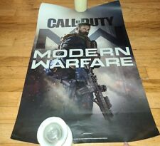 Call of Duty Modern Warfare  Double Sided Display Posters 18x27 (Lot of 2)