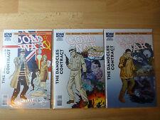 Cold War Comic Lot #1 #2 #3 John Byrne High Grade Set 1st Prints