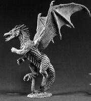 Reaper Miniatures Amber Dragon #02457 Dark Heaven Legends Unpainted Metal Figure