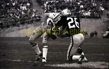 1970 SD Chargers @ Oakland Raiders - #27 Gary Garrison - Vtg Football Negative