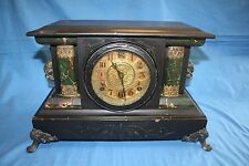 Antique Wooden Gilbert 1907 Mantle Clock ~Make Offer~ *Free Shipping*