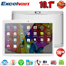 "10.1"" 16Go 3G+Wifi Phablette Tablette Tactile PC Portable Android6.0 Dual SIM FM"