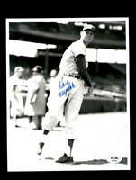 Don Drysdale PSA DNA Coa Hand Signed 8x10 Photo Autograph