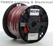 BELDEN 5120UL 0021000 14/2 C (S) N/S FPLR Red Riser Cable Fire Alarm Wire 14AWG