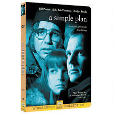 A Simple Plan (DVD, 1999, Widescreen) Bill Paxton Billy Bob Thornton New/Sealed