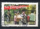 STAMP / TIMBRE FRANCE OBLITERE N° 3770 LES GUINGUETTES