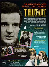 Francois Truffaut_Original 1992 Trade Ad promo_The 400 Blows_Two English Girls