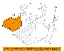 Chevrolet GM OEM 07-11 Aveo Interior-Rear Door-Water Deflector Left 96649797