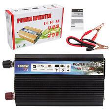 1000W Auto Power Inverter DC 12V AC 220V Car Converter Modified sine wave New