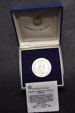 SAN MARINO 1983 MEDAGLIA IN ARGENTO VISITA DI GIOVANNI PAOLO II IN COFANETTO