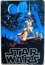 Star Wars Tin Sign metal Vintage Art poster home room wall decor movies 20x30 cm