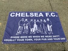 More details for chelsea retro where were we when we were... 5 x3ft flag/banner
