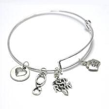 Nurse Charm Bracelet Appreciation RN Gifts Registered Nurse Jewelry Medical Gift