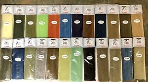 3-D EP FIBERS. BLENDED BAITFISH COLORS.  FLY TYING MATERIAL. SALTWATER, MUSKY.