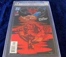 2003 SUPERMAN BATMAN #2 PUBLIC ENEMIES JEPH LOEB ED McGUINNESS CGC 9.4