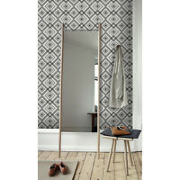 Geometric Removable wallpaper white and black wall mural photo