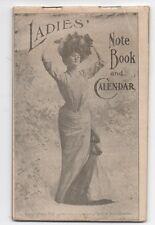 1903 Dr Pierce's Ladies Note Book & Calendar Quack Medicine Advertising