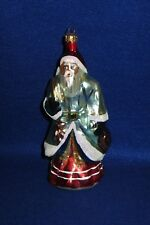 """PERE NOEL"" CHRISTOPHER RADKO BLOWN GLASS ORNAMENT #95-041-0 - MINT"