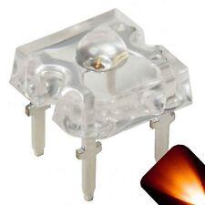 20 x LED 3mm Dome Superflux Amber Orange Piranha LEDs Turn Lights Super Flux