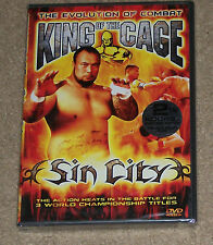 King of the Cage Sin City Dvd New