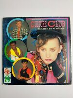 CULTURE CLUB COLOUR BY NUMBERS QE-39107 LP VINYL RECORD Not Graded