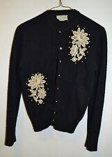 Vintage 50's beaded sweater