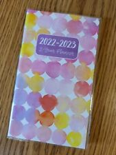 2022 2023 Dots 2 Year Pocket Monthly Planner Calendar 65 X 375