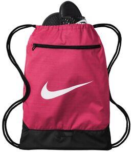 Nike Brasilia Sackpack UA Drawstring Backpack Sack Pack Gym Bag All Sport Cinch