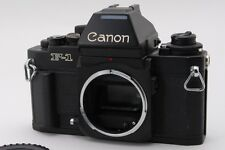 【NEAR MINT】Canon New F-1 AE Finder 35mm SLR Film Camera Black  From Japan #1601