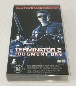 Terminator 2 : Judgement Day VHS Tape  1993