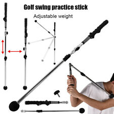 Golf Swing Trainer Whip Tempo Strength Swing Stick Pole Indoor Practicing Aids