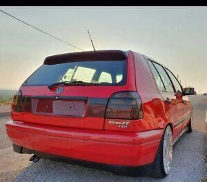 Volkswagen VW  GOLF MK3 GTI VR6 HECKBLENDE TAIL PANEL SMOKED RED NEW OLD STOCK👍