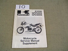 Kawasaki Ex 500/GPZ400/500 Supplement 99924-1082-52( In hand ships today Free )