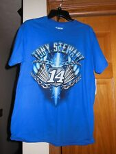 New with tags NASCAR Tony Stewart #14 M Medium T-Shirt Blue