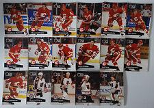 1991-92 Pro Set Series 1 Calgary Flames Team Set of 17 Hockey Cards