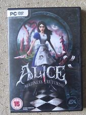 Alice Madness Returns PC game. COMPLETE. Windows, 2011. Adventure fairytale