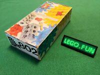 Lego® 802 alte Zahnräder +OVP 1970 / gears old +box Technic Technik vintage rare