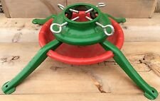 Large Metal Christmas Tree Stand Red And Green