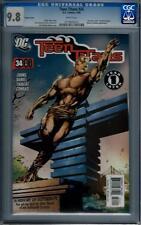DC Comics Teen Titans (2003 Series) # 34 Variant CGC 9.8 NM/MT 0718845010