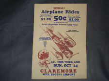 Inman Bros. Flying Circus Poster