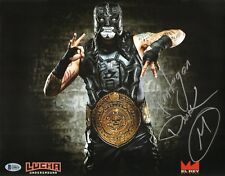Pentagon Jr Penta Signed 11x14 Photo BAS COA Lucha Underground Impact Wrestling
