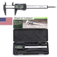 6 Inch 150mm LCD Digital Electronic Gauge Stainless Steel Vernier Measure Tool