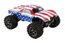 Custom Body American Flag for Traxxas T / E Maxx Shell Cover 3911R E-Maxx