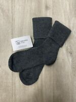 100% Pure Cashmere Socks | Johnstons of Elgin | Made in Scotland | Charcoal