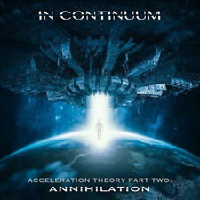 IN CONTINUUM - ACCELERATION THEORY TWO SEALED CD DIGIPAK 2019 ANNIHILATION