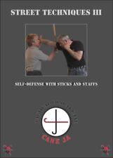 Street Self Techniques #3 Sticks, Staffs, Dan Bongs, Common Items Dvd Mark Shuey