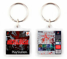 METAL GEAR SOLID PLAYSTATION PSX LLAVERO KEYRING