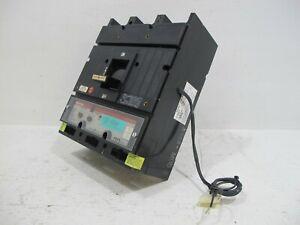 General Electric TJ4VF16 400 Amp Breaker T4VT Trip MVT Versa GE 300A 600V TJ4V